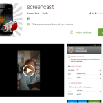 Screencast App for Android Download – Record Your screen