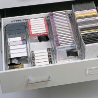 Safco Audio - Video Storage Cabinet (4935LG)