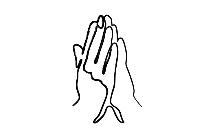 Speak and pray