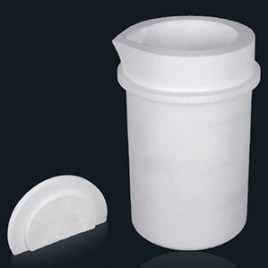 Keramiktiegel für Platin-Volumen Hochfrequenz-Induktionsofen