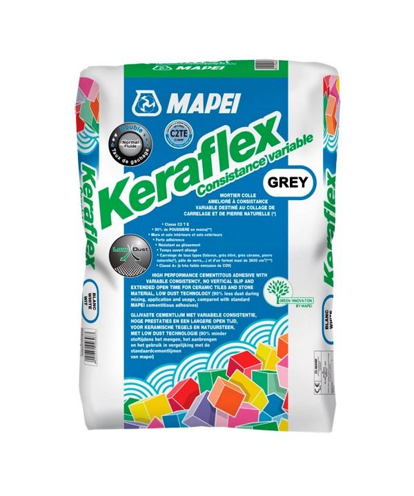 mapei keraflex tile adhesive grey 25kgs bag