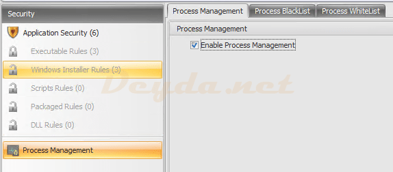 Security Process Management