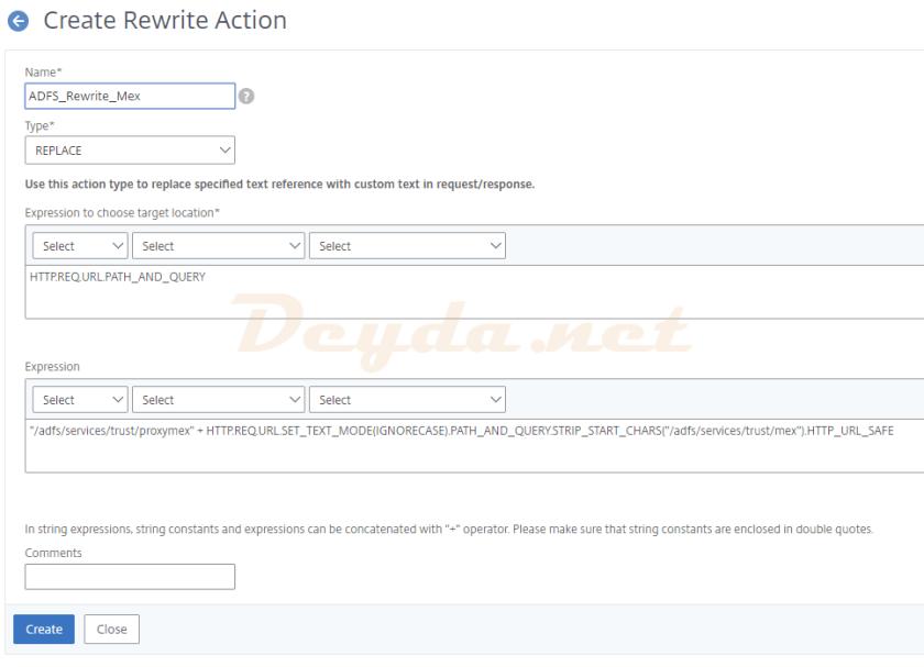 Rewrite Action Mex