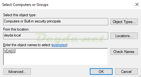 Select Computer or Groups
