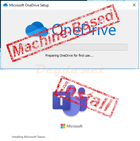 Install Teams & OneDrive in Citrix (Machine-Based)