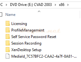 x86 installer Licensing ProfileManagement Self Service Password Reset Session REcording XenDesktop Setup
