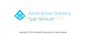 Azure Active Directory Sync Services