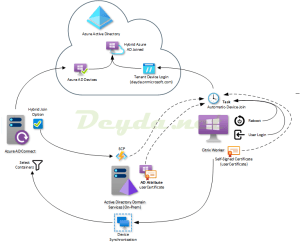 Hybrid Azure AD Join with SCP