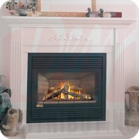 BCDV33-3NR - Continental Rear Direct Vent Gas Fireplace