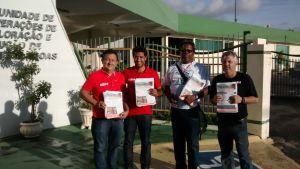 Antônio Raimundo (NF), Chico Zé (NF), Cláudio Alberto (SE) e Lourenzon (PE/PB)