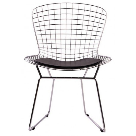 bertoia side chair round cushions by knoll design free shipping to worldwide