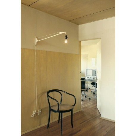 Jean Prouv Potence wall lamp by Vitra  Design by Free