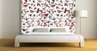 Birds Tapestry Dry Erase Decal Furniture Skin | Dezign ...
