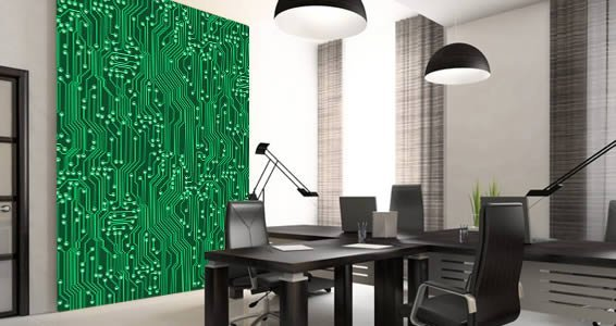 Circuit Board Circuit Board Wall Murals Dezign With A Z