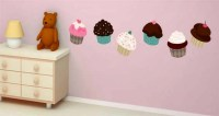 Cupcakes Wall Decals Pack | Dezign With a Z