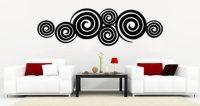 Swirly Swirls wall decal   Dezign With a Z