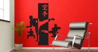 Karate wall stickers | Dezign With a Z