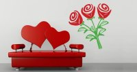 Roses wall stickers | Dezign With a Z
