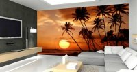 Sunset wall mural | Dezign With a Z