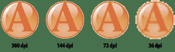 Résolution d'un logo pixelisé