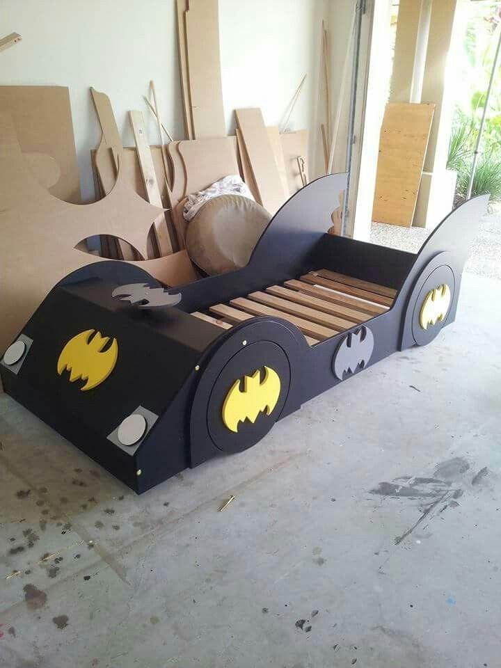 batman bed for kids room dxf file
