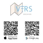 Dowload de app via deze QR codes of direct via de app winkel.