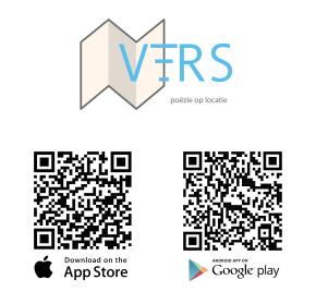 Een gratis app met poëzie op locatie.