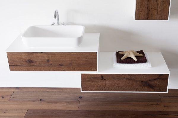 DeZotti Design  Outlet  MOBILE BAGNO MODERNO SCURO