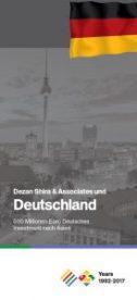 Dezan Shira & Associates 25 anniversary with Germany Brochure