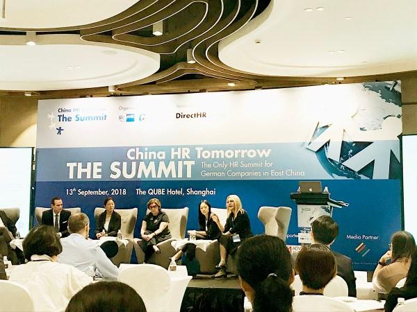China HR Tomorrow Summit in Shanghai