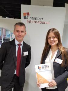 Maria Kotova Presents at Global Business Expo 2019 in Leeds, England