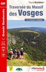 Wandelgids ref 502 GR5 - GR53 Traversée du Massif des Vosges - Vogezen | FFRP