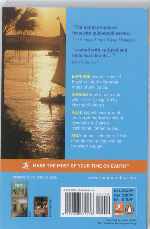 Reisgids Egypte  Egypt  Rough Guides  9781409362463