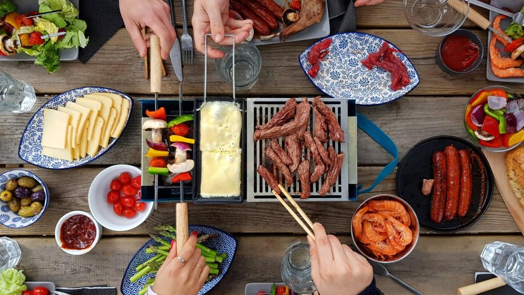 Barbecue transportable et écoresponsable - les supports