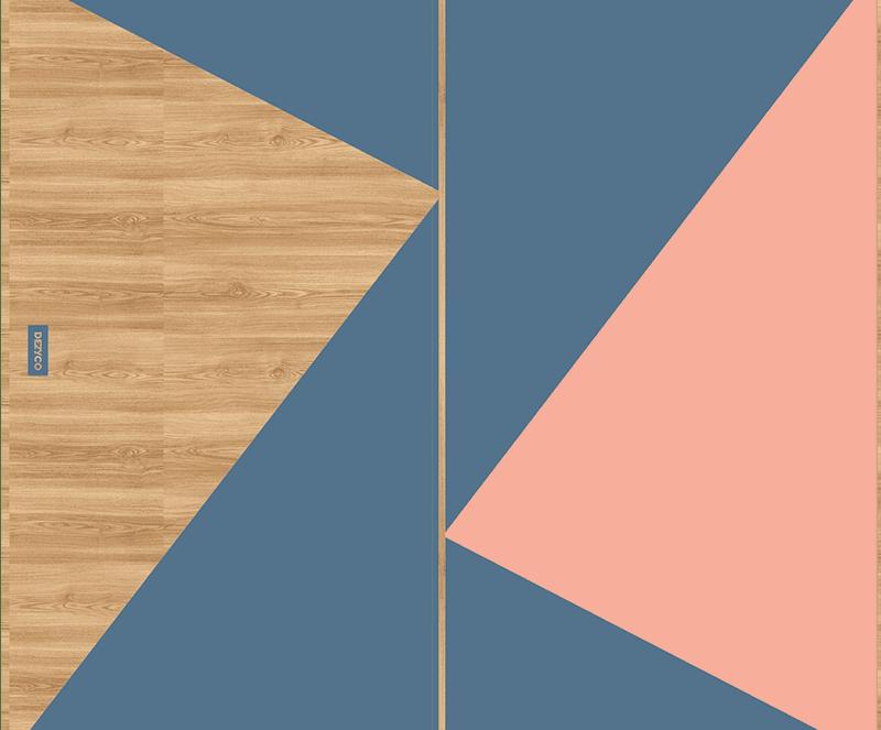 table dezyco motif colorzz