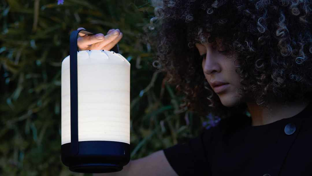 Lampe Led Bois Design