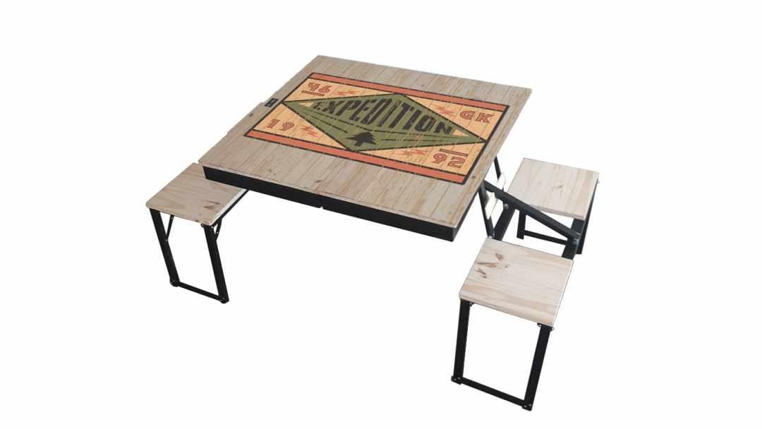 Table Dezyco motif Original Expédition