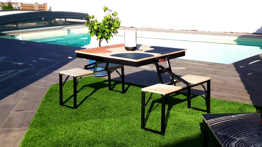 Table dezyco - format table d'appoint