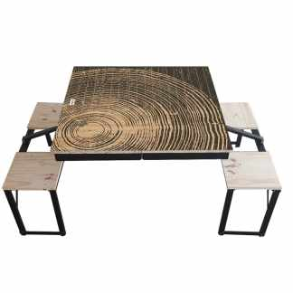 Table Dezyco motif Tree Lives