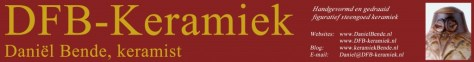 Logo DFB-keramiek Etsy, verkoop keramiek beelden