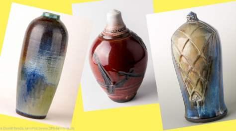 Collage Expositie keramikos DFB-keramiek