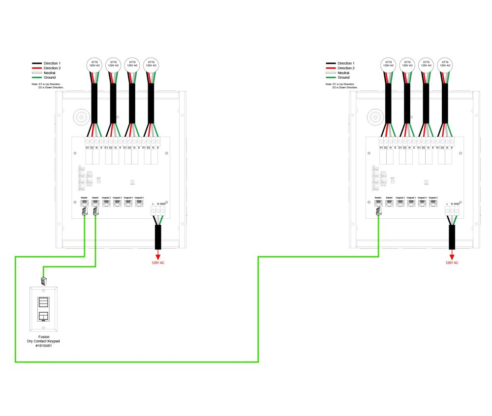 medium resolution of 05 line voltage 4 motor control interface to grafik eye wiring