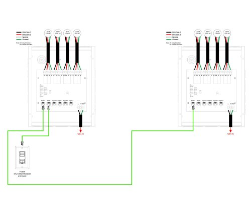 small resolution of 05 line voltage 4 motor control interface to grafik eye wiring