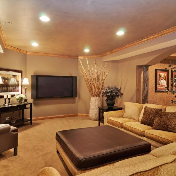 Basement Entertainment Room Portfolio Expert Design