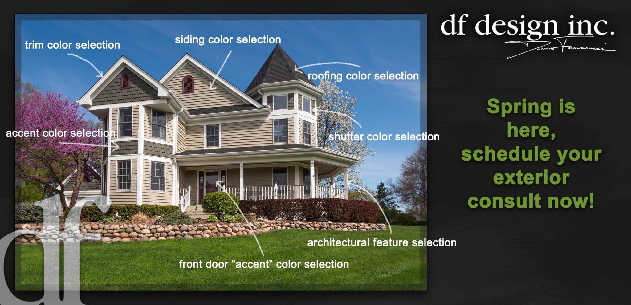 Exterior Painting Consultation | Exterior Home Renovation Design