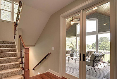 patio doors that maximize form and function
