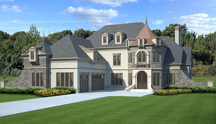 Top 3 French Country House Plans DFD House Plans