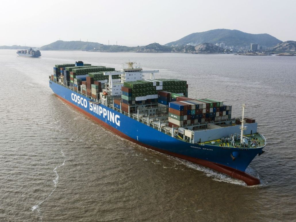 shipping from China to South Africa