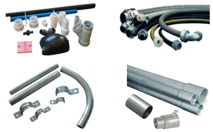Underground Electrical Conduit Types