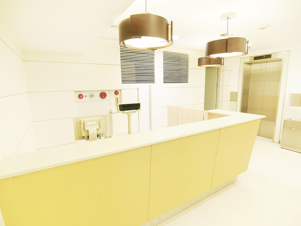 Acrylic Solid Surface Healthcare Labs Deeley Fabrications MK